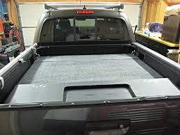 F150 Bed Dimensions by Sleeping Platform Ideaspicts Tacoma World Also Truck Bed