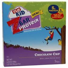 Clif Kid Z Bar PROTEIN Chocolate Chip Box Of 5