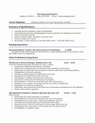 Sample Skills For Resume New Cna Objective Examples Cv Cover Letter Of Objectives