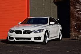 Beautiful BMW 428i Gran Coupe in Alpine White shoot