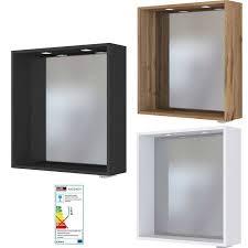 badezimmer spiegelpaneel mit touch led einbauleuchten taree 03