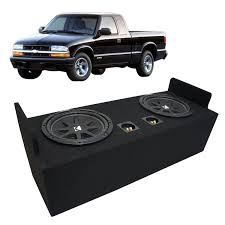 "Buy OBCON Dual 10"" Chevy S-10 Labyrinth Slot Vented Speaker Box ... Atrendbbox E12d B Box Series Dual Sealed Bass Boxes 12 Custom Fitting Car And Truck Subwoofer Lvadosierracom How To Build A Under Seat Storage Box Howto Toyota Tacoma 9504 Ext Cab Sub Jl Audio 212w0v34 Subwoofers2truck Enclosures With Jx500 Buy Obcon 10quot Chevy S10 Labyrinth Slot Vented Speaker Dodge Ram Quad Cab 2002 2013 Youtube Inch Subwoofer Boxes Installing Subwoofers In 8 Steps Consumer Electronics Speakersub Enclosures Find Offers Online Other 10 Single Shallow"