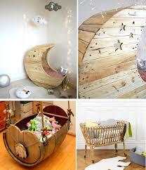 décorer une chambre de bébé décoration chambre bébé avec matériaux de récupération idées