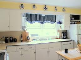 Kitchen Bay Window Over Sink by Kitchen 27 Kitchen Window Curtains Window Treatment Over The