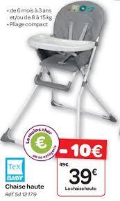 carrefour chaise haute meilleur accueil à carrefour promotion chaise haute tex baby