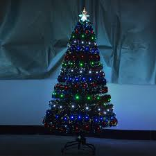 Ge 75 Artificial Christmas Tree by Christmas Tree With Led Lights 75 Foot King Fraser Fir