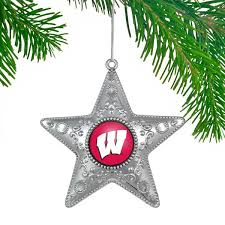 Wisconsin Badgers Christmas Decorations Holiday Decor Ornaments
