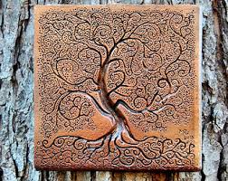 Tree Wall Decor Wood by Rustic Tree Etsy