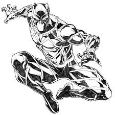 Image Result For Marvel Black Panther Coloring Pages
