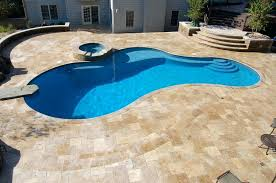how much does it cost to install travertine tile pavillion home