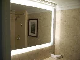lighted bathroom wall mirror scaleclub