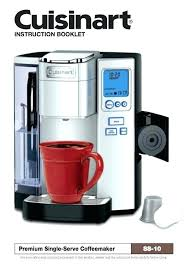 Cuisinart Coffee On Demand K Cup Maker Mes Parts