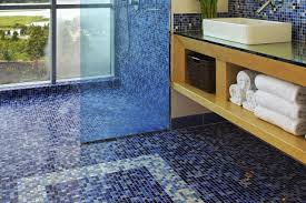 Glow In The Dark Mosaic Pool Tiles by The Pros And Cons Of Mosaic Glass Tile Flooring