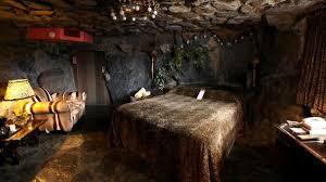 the caveman room at the madonna inn in san luis obispo ca