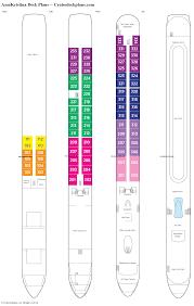 Azamara Journey Deck Plan 2017 by Amakristina Deck Plans Diagrams Pictures Video