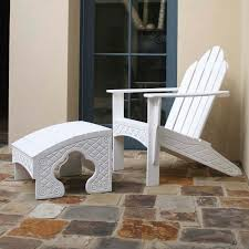 eagle one chesapeake recycled plastic adirondack patio chair with
