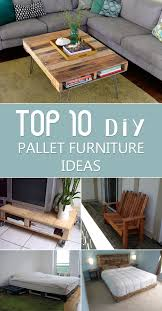 TOP 10 DIY Pallet Furniture Ideas