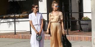 Behati Prinsloo And Lily Aldridge Summer Street Style