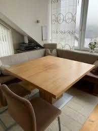 eckbank tisch inkl stühle nussbaum modern