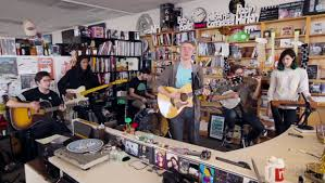 Angel Olsen Tiny Desk by Pinegrove Puts Their Folk Foot Forward In New Tiny Desk Concert