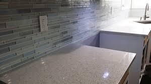 kitchen backsplash blue glass tile backsplash cheap kitchen