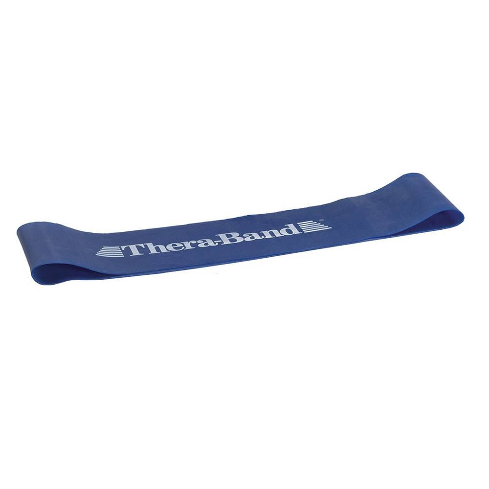 TheraBand Professional Latex Resistance Band Loop - Blue