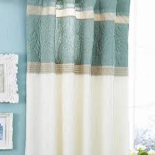 Teal Blackout Curtains Pencil Pleat by Floral Duck Egg Curtains Savae Org