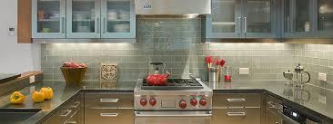 gray granite countertop kitchen grey glass tile backsplash with