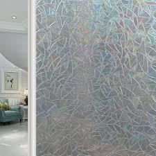 100cm 45cm transparente selbstklebende tapete pvc geometrische fenster glastür aufkleber airyclub