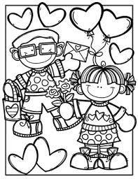 FREE Valentine Coloring Book