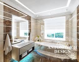 badezimmer interieur im modernen stil elite