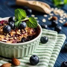 tiktok trend gesunder haferflocken kuchen zum frühstück
