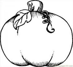 Pumpkin Print Out Coloring Pages