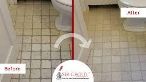 beautiful stratford home had a marble bathroom floor see
