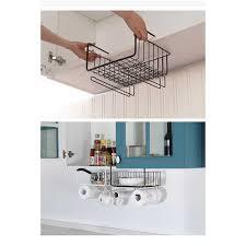 küche lagerung bin unter regal draht rack schrank korb eisen lagerung geschirr organizer halter stehen küche werkzeuge hängen