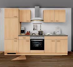 küchenzeile mankaportable 3 küche 270cm in buche ohne e geräte