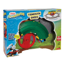 thomas friends deluxe tidmouth sheds 45 00 hamleys for