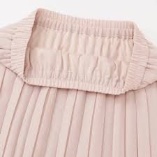 women high waist chiffon pleated skirt uniqlo us