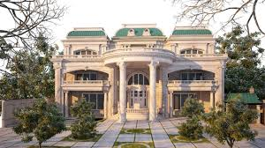 100 Villa House Design The Exterior And Interior Of A Classic Style