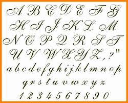 6 Cursive Writing Capital Letters