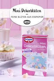 mini dekorblüten kuchen und torten esspapier muffins