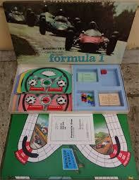 Waddingtons Formula 1 Motor Racing Board Game Mid 1960s