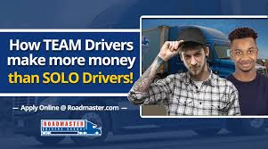 How Team Drivers Make More Money Than Solo Drivers - Roadmaster ... Driving Jobs At Coinental Express May Trucking Company Small To Medium Sized Local Companies Hiring Team Truck Drivers Husband Wife The Culvers Youtube How Went From A Great Job Terrible One Money Mfx Ftl Trucking Companies Service Full Load Advantages And Disadvantages New Team Driver Offerings From Us Xpress Fleet Owner Choosing Best To Work For Good Careers Teams Transport Logistics Cdllife Dicated Lane Driver Dry Van