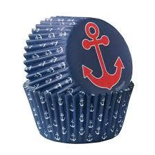 Wilton Cupcake Cases Anchor 75 Pcs 1