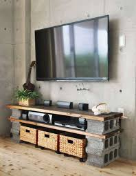 betonblöcke für tolle diy möbel diy tv möbel