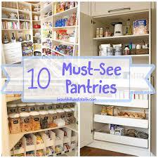 In Pantry Organization Ideas