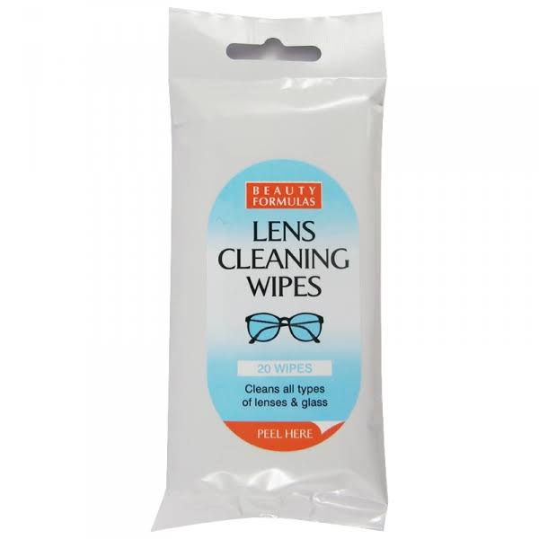 Beauty Formulas Lens Cleaning Wipes 20