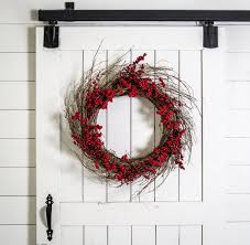 Deck The Halls Waco 2016 by Red Berry Wreath Christmas Decor Magnolia Christmas Magnolia