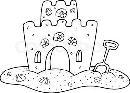 Castle Outline Drawing At GetDrawings