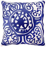 Blue Pillows Pillow Cases Covers Throw
